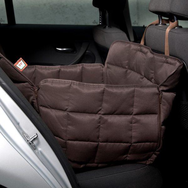 Autoschondecke 1-Sitz braun - Doctor Bark