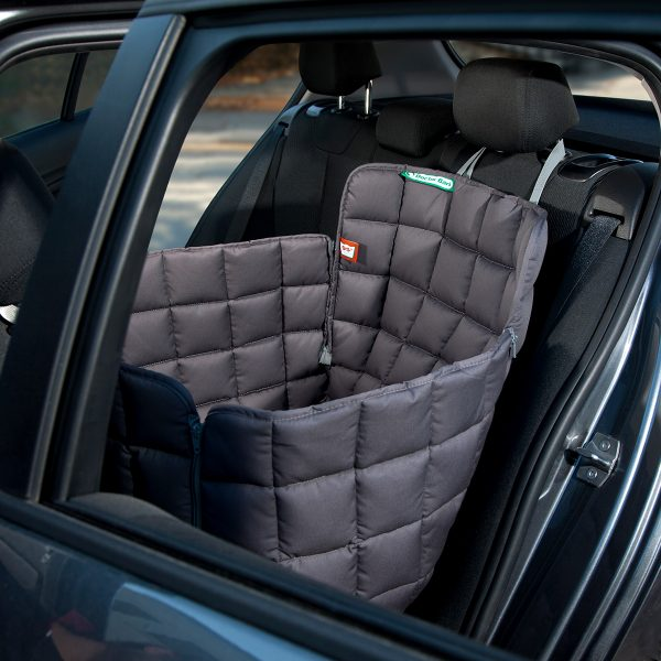 Autoschondecke 1-Sitz grau - Doctor Bark