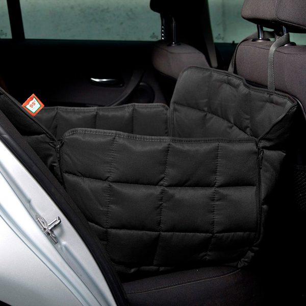 Autoschondecke 1-Sitz schwarz - Doctor Bark