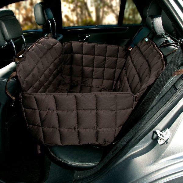 Autoschondecke 2-Sitz braun - Doctor Bark