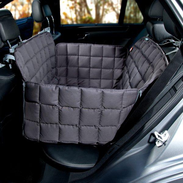 Autoschondecke 2-Sitz grau - Doctor Bark