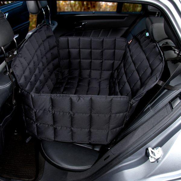 Autoschondecke 2-Sitz schwarz - Doctor Bark