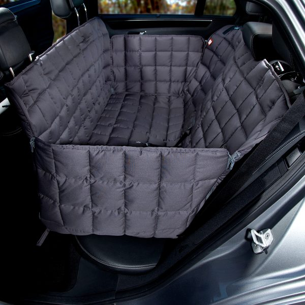 Autoschondecke 3-Sitz grau - Doctor Bark