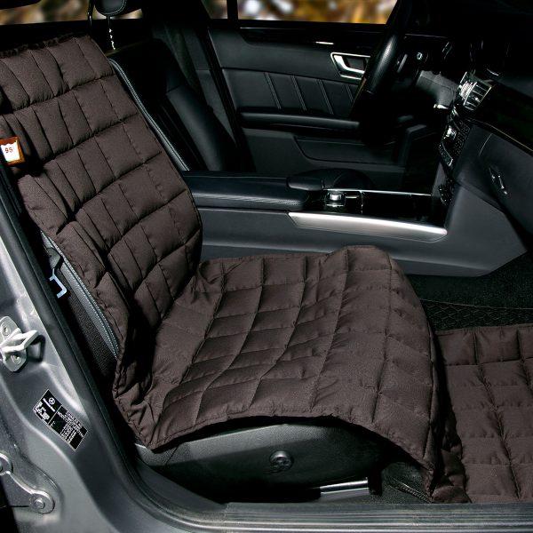 Autoschondecke Beifahrersitz braun - Doctor Bark