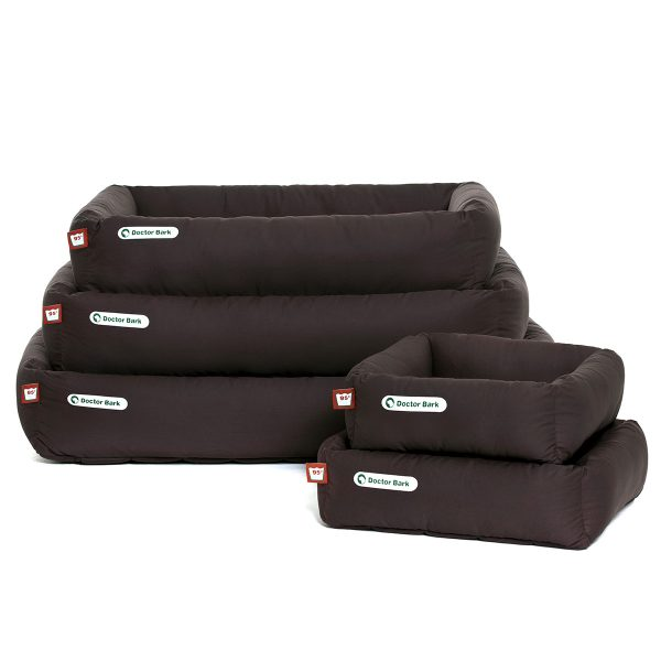 Hundebett braun-Doctor Bark - Stapel