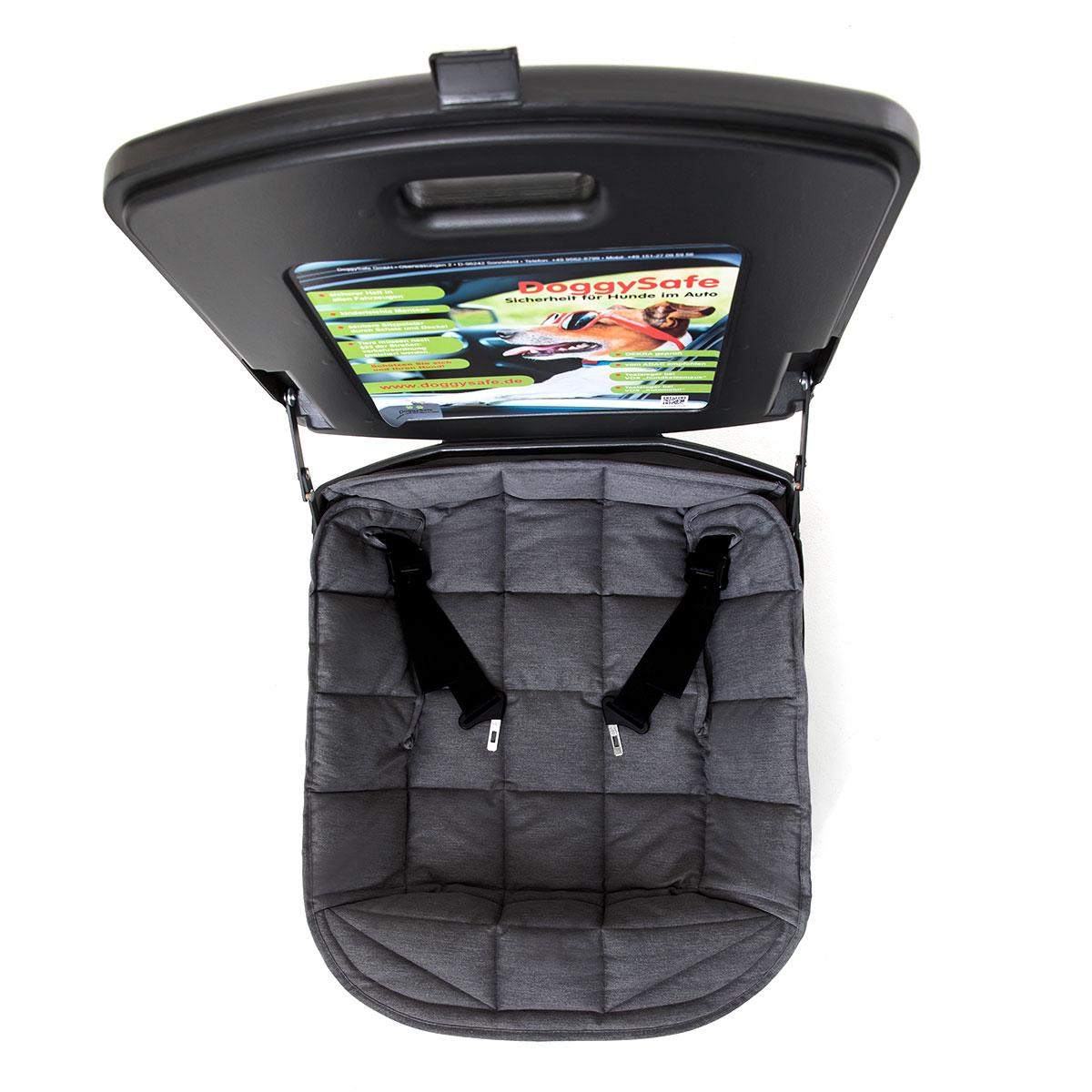 doggysafe auto hundesitz gurtsystem und einlegedecke. Black Bedroom Furniture Sets. Home Design Ideas