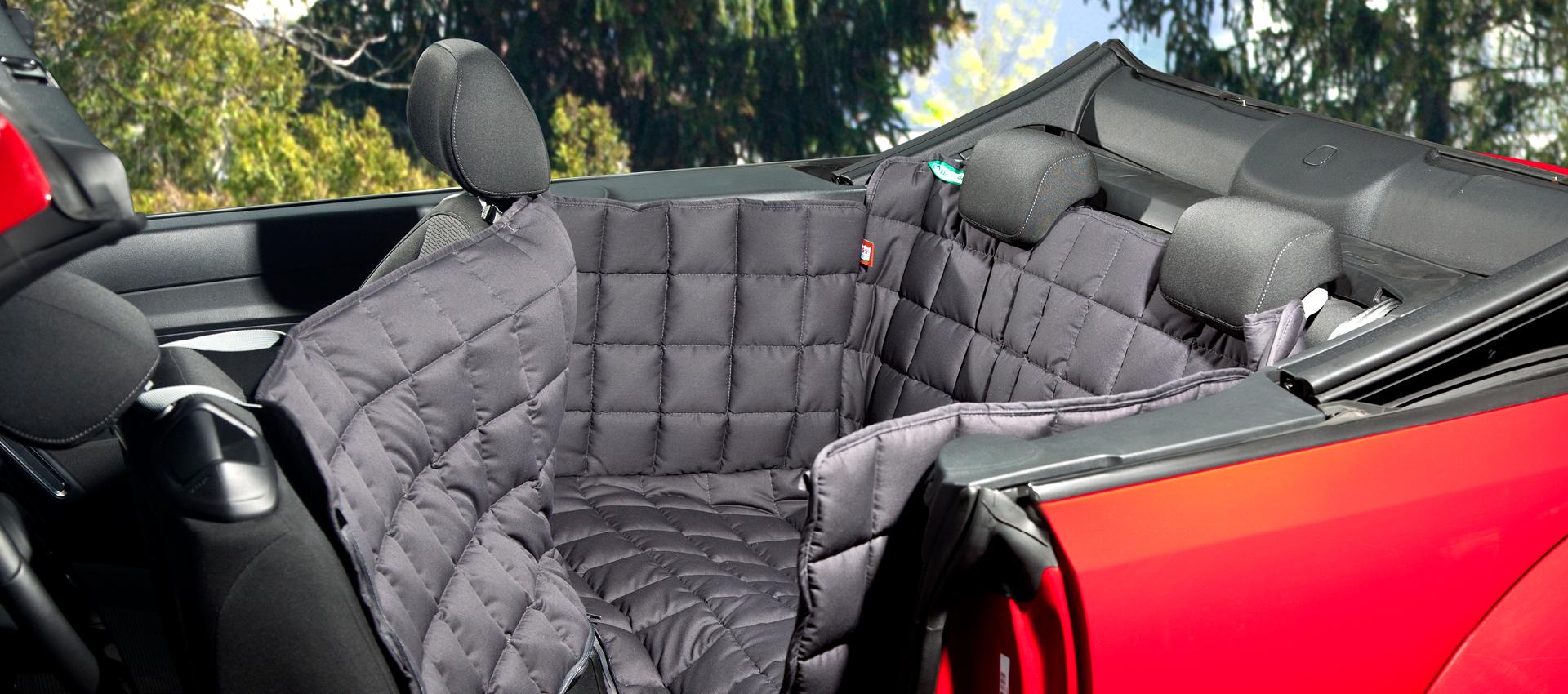 Doctor Bark - Autoschutzdecke für Rücksitzbank (2-Türer Fahrzeuge)